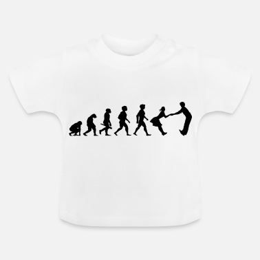 Dance Music Evolution dancing dance couple music dance music - Baby T-Shirt