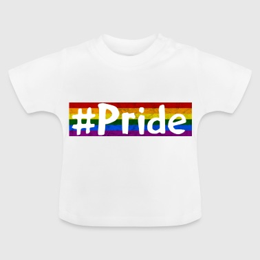 Pride sheds gift gay - Baby T-Shirt