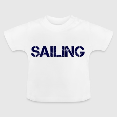 Sailing Navy - Baby T-Shirt