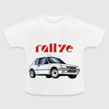Marts 1 rally 90 92 Hvid Meije - Baby T-shirt