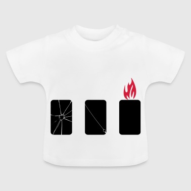 mobile phone harm - Baby T-Shirt