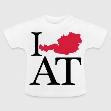 I love AT - I love Austria - Baby T-Shirt
