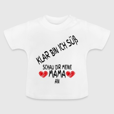 Baby Bodysuit Sweet Mom - Camiseta bebé
