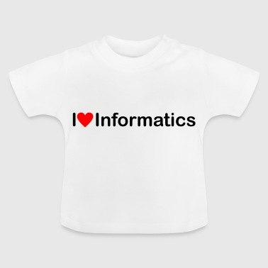 Love of computer science - Baby T-Shirt