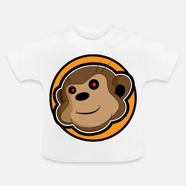 Cartoon-affe Affen Cartoon Shirt - Baby T-Shirt
