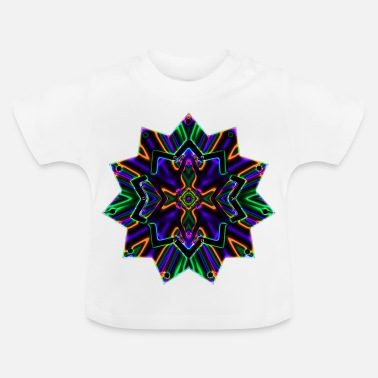 Ornament Star - Ornament - Baby-T-shirt