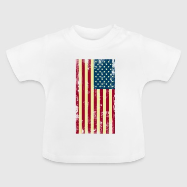USA - Flag - Baby T-shirt