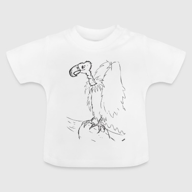 Vulture sketch - Baby T-Shirt