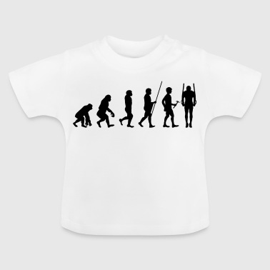 Evolución del atleta regalo de la camiseta Cross Fit - Camiseta bebé