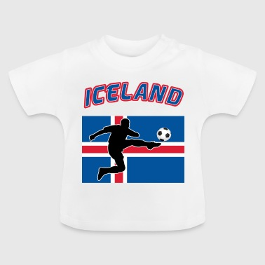 IJsland Football - Baby T-shirt