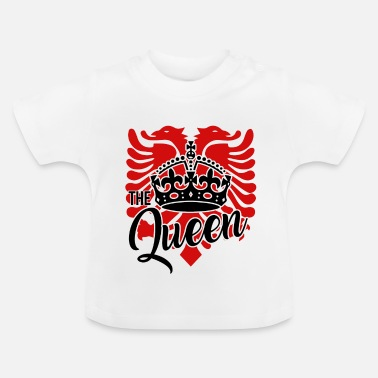 Albanian Eagle Albanian eagle for an albanian queen - Baby T-Shirt