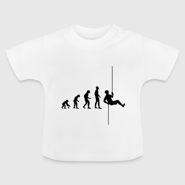 Evolution Rappelling | Climbing sports - Baby T-Shirt