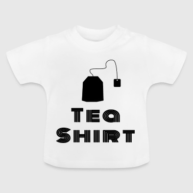 Tea Shirt - Black / Black - Baby T-Shirt
