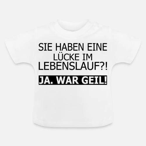 Lebenslauf Lucke Spass Job Lustig Spruch Baby T Shirt Spreadshirt
