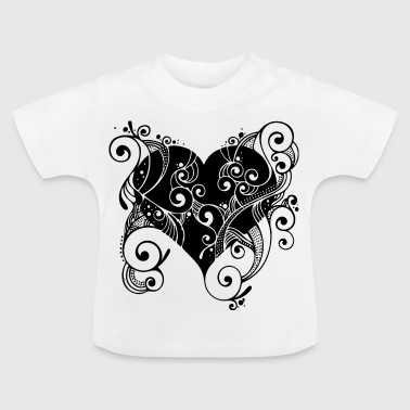 Heart in bloom - Baby T-Shirt