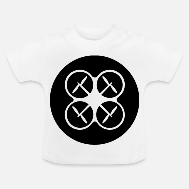 Luchtvaart Drone icon Enthusiast - Baby T-shirt