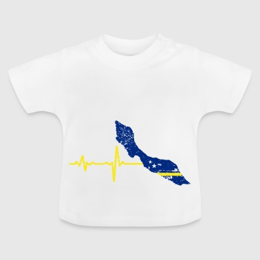 Heartbeat Curacao Gift - Baby T-shirt