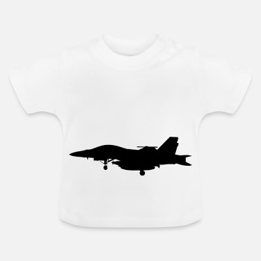 Jet Avion Jet fighter jet idée cadeau d'avion - T-shirt Bébé