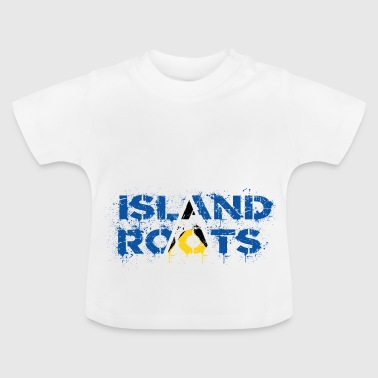 St Lucia roots - Baby T-Shirt