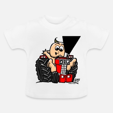 Trekker BABY ON TRACTOR - Baby T-shirt