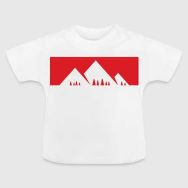 The mountain is calling - mountain, mountains - Baby T-Shirt