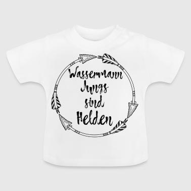 suchbegriff 39 sternzeichen wassermann 39 baby t shirts online bestellen spreadshirt. Black Bedroom Furniture Sets. Home Design Ideas