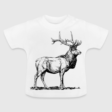Red Deer Deer - Baby T-Shirt
