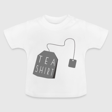 Tea Shirt - Gray / Gray - Teabags - Baby T-Shirt
