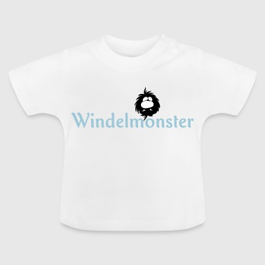 Windelmonster - Baby T-Shirt