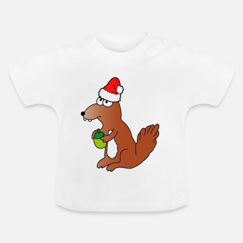 Weihnachten   Frohe Weihnachten Eichhörnchen Wald von 1174   Spreadshirt