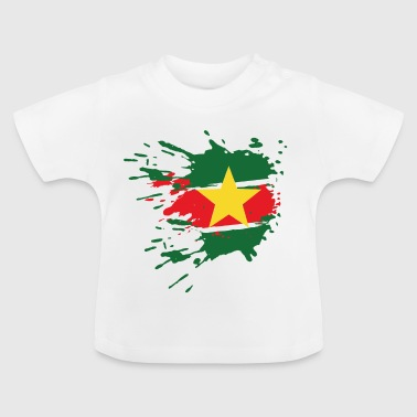 Suriname flag - Baby T-shirt