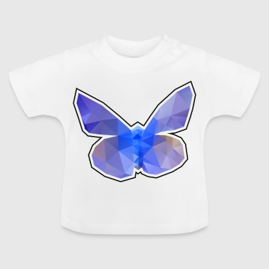 polygon vlinder - Baby T-shirt