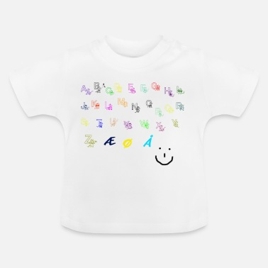 Alfabet alfabet Collection - Baby-T-shirt