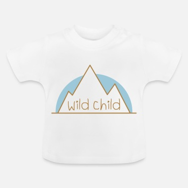 Rage Kids Teddy.Kidswear. - WILD CHILD - Baby T-Shirt