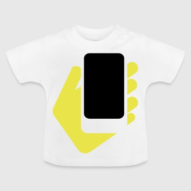 hand mobile phone - Baby T-Shirt