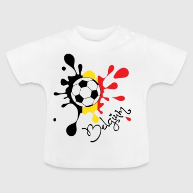 Coupe du Monde de Football Coupe du Monde de Belgique - T-shirt Bébé