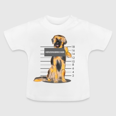Hovawart heartbreaker dog gift cute - Baby T-shirt