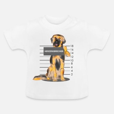 Hovawart Hovawart heartbreaker dog gift cute - Baby T-shirt