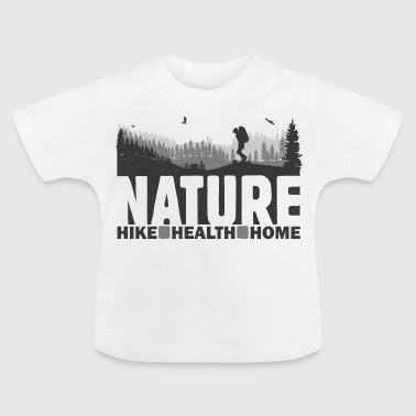 Naturvandring Health Home - Baby-T-shirt