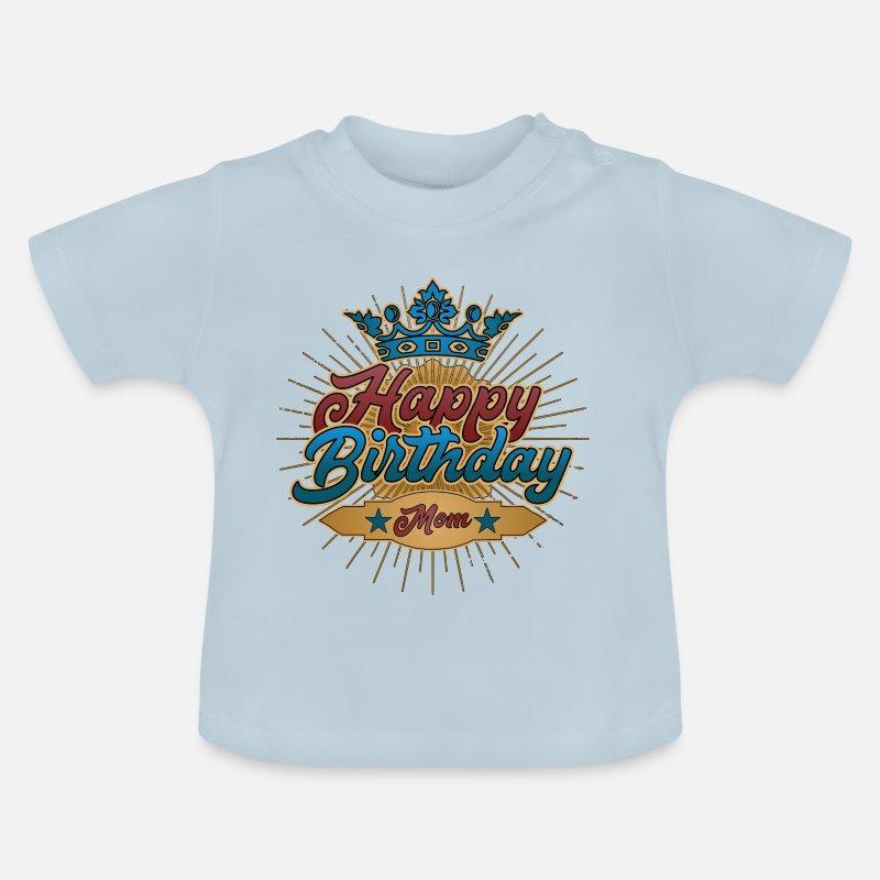 Happy Birthday Mom Geburtstag Geschenk Vintage Von BSRshirts