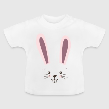 Funny easter bunny gift for kids, girls - Baby T-Shirt