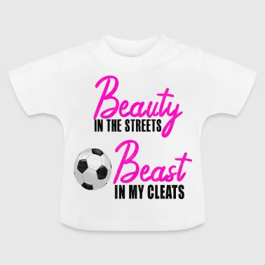 Soccer girl soccer saying - Baby T-Shirt