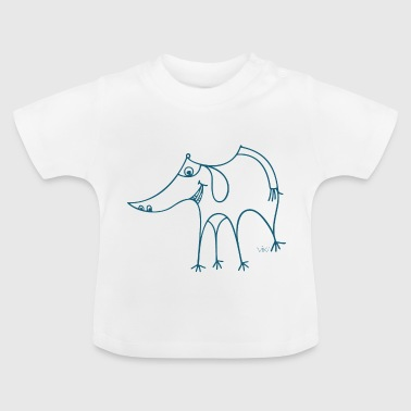 nose dog - Baby T-Shirt