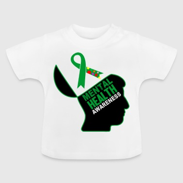 Health Be aware that mental health is important - Baby T-Shirt