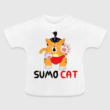 Sumo chat - T-shirt Bébé