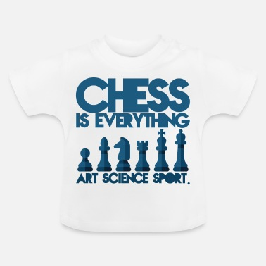 Schaken Schaken is alles - Baby T-shirt