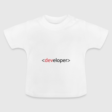 Developer - T-shirt Bébé