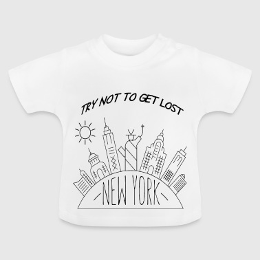 New York - T-shirt Bébé