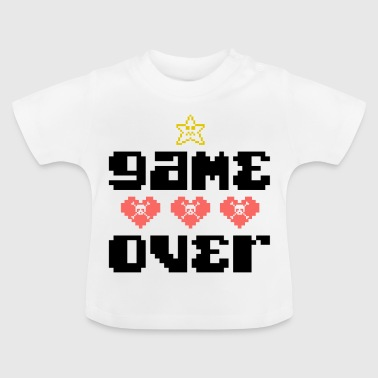 Game Over Computers Console Game Consola de juego - Camiseta bebé