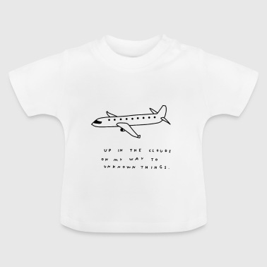Travel Airplane Travel Travel Traveler - Baby T-Shirt